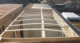Vaulted Roof for Shipping