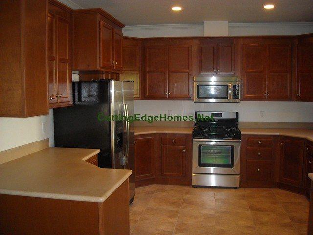 Alameda modular home kitchen from Cutting Edge Homes