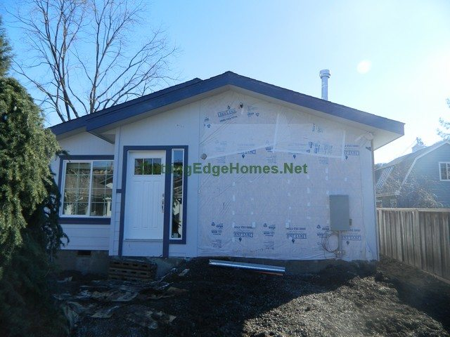 Exterior, Garage Not Yet Built