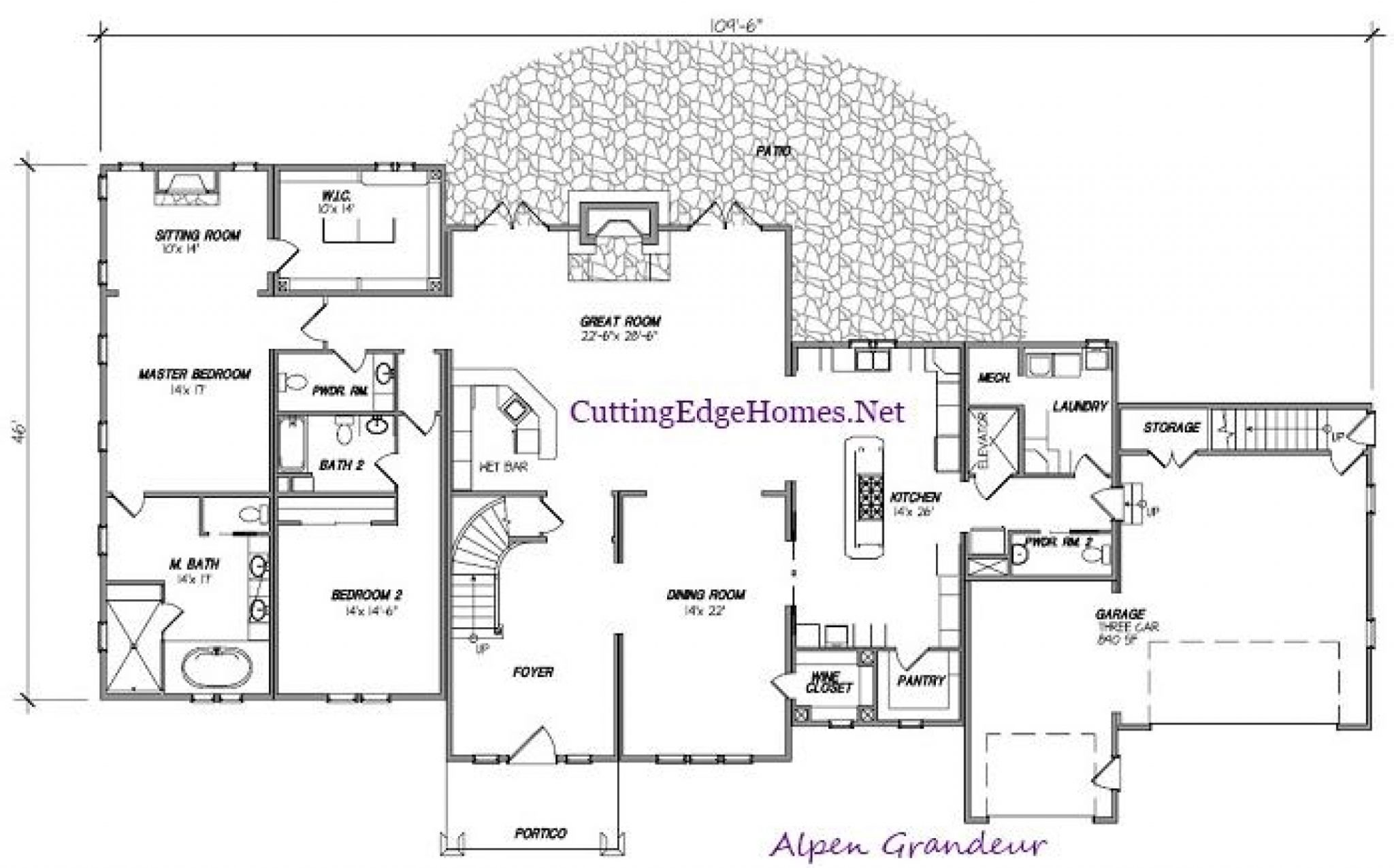 Floor Plan Elevation Pdf : Modular homes the alpen grandeur floor plan and elevation pdf