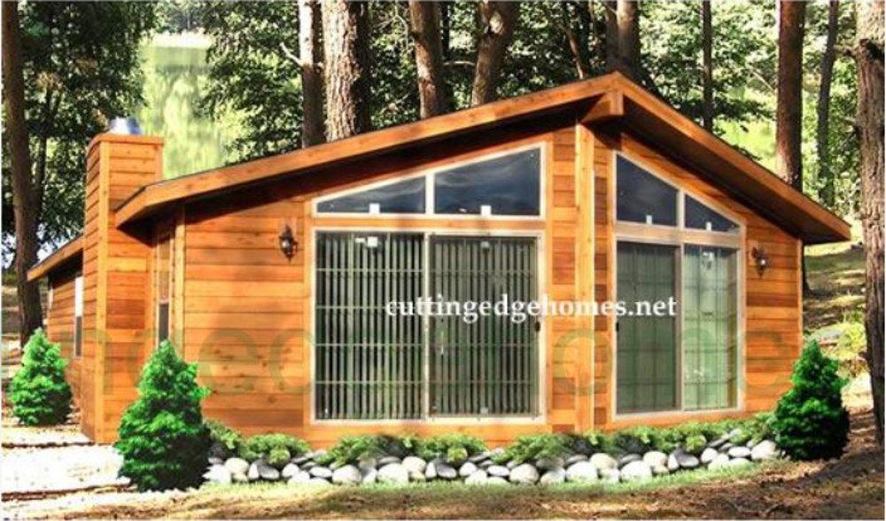 Modular Homes Big Bear Cabin Home 1