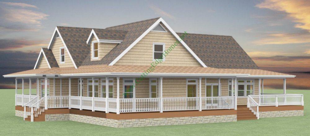 Modular homes california for Cape modular home plans