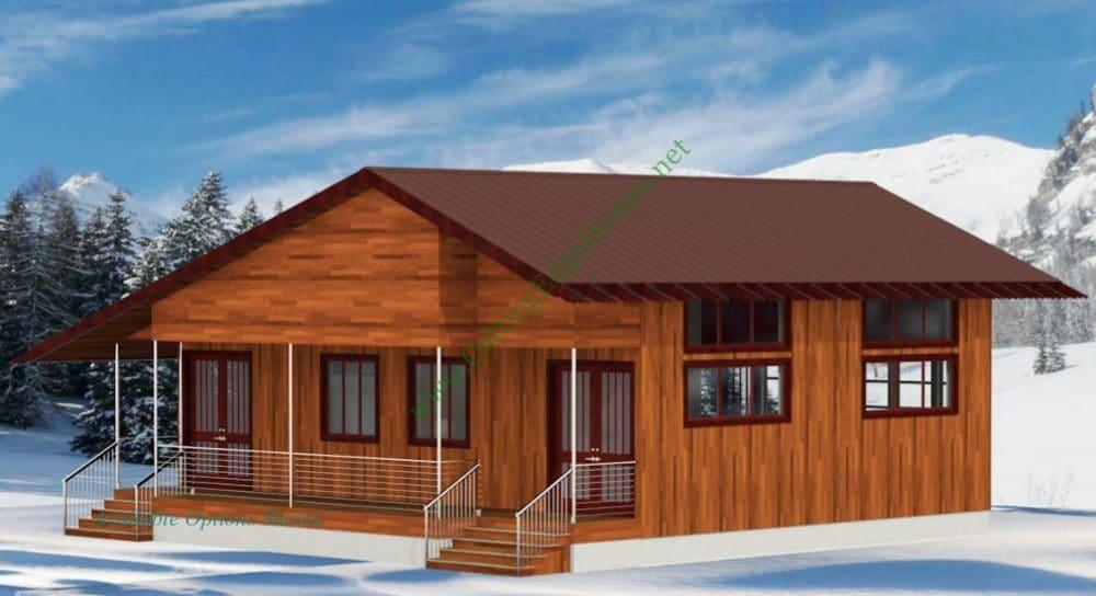 Modular Homes Contemporary Cabin 2