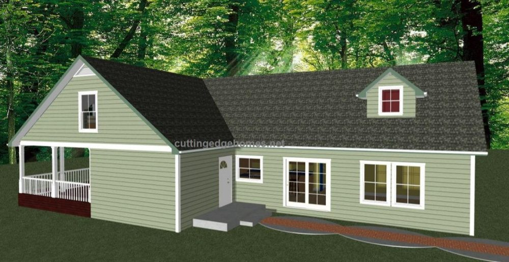Modular homes custom laguna cape cod for Modified cape cod house plans