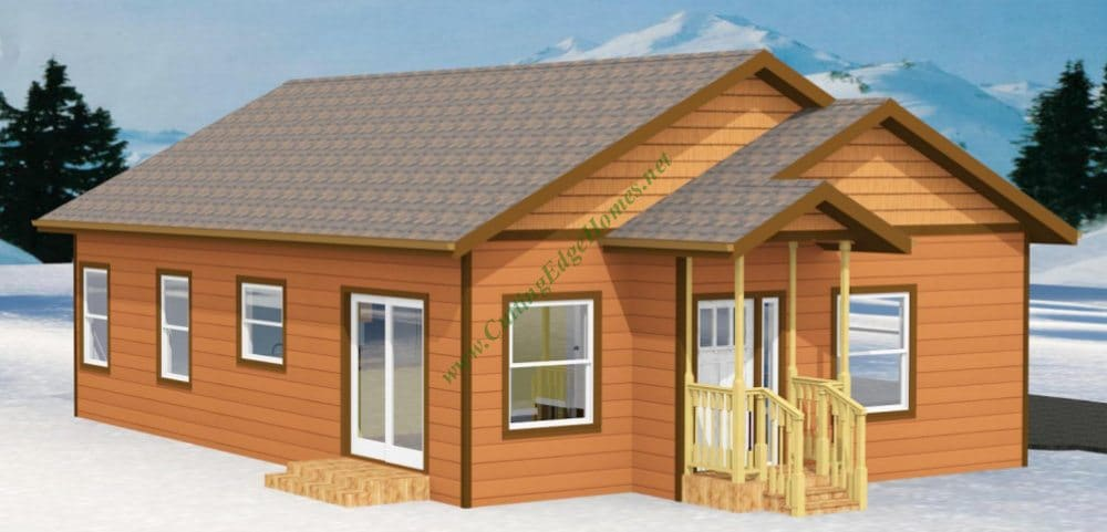 Modular homes the south lake home 1 for Prefab lake homes