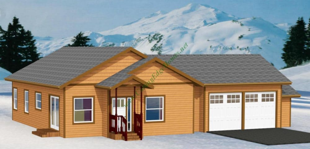 Modular homes the south lake home 3 for Prefab lake homes