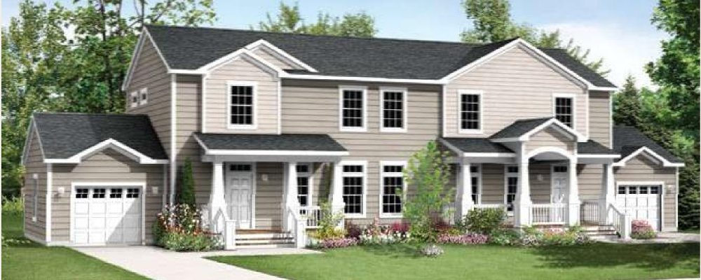 Modular homes kennedy duplex home for Duplex modular homes