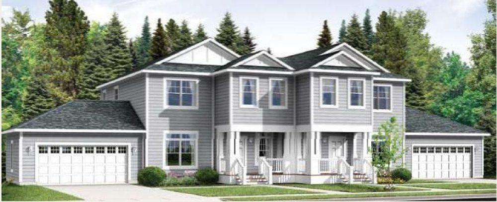 Modular homes wilson duplex home for Manufactured duplex homes
