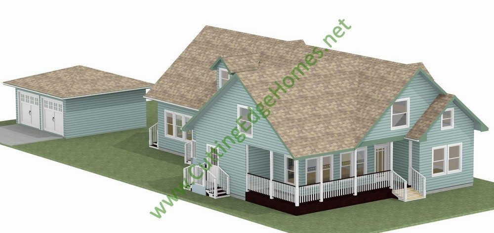Modular homes for Modified cape cod house plans