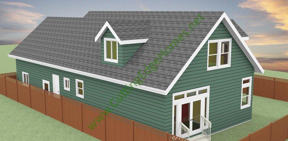 Modular homes custom decoto cape cod for Custom cape cod house plans