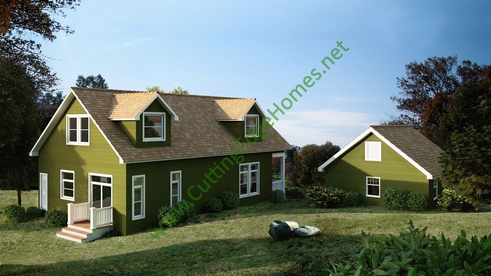 Modular homes custom lafayette cape cod for Modified cape cod house plans