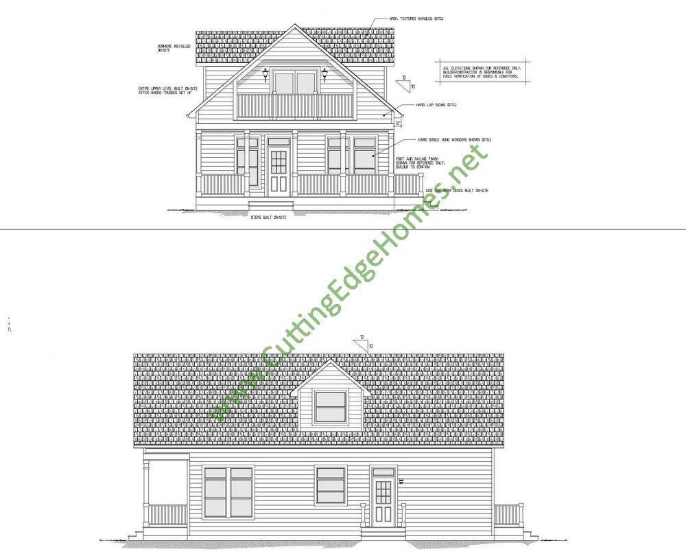 Modular homes custom lafayette cape cod for Custom cape cod house plans