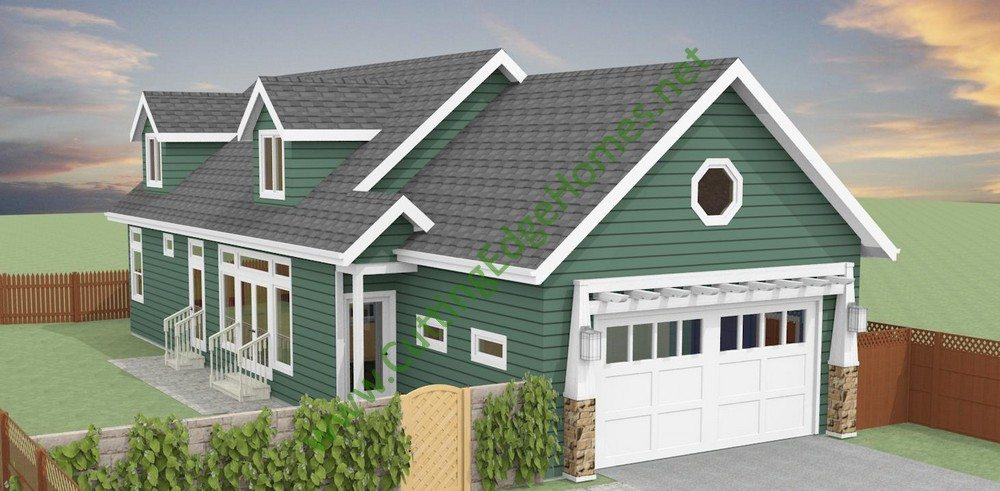 Modular homes custom decoto cape cod for Modified cape cod house plans