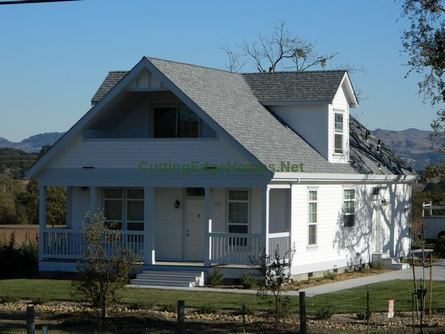 Modular homes custom classic cape cod for Modified cape cod house plans